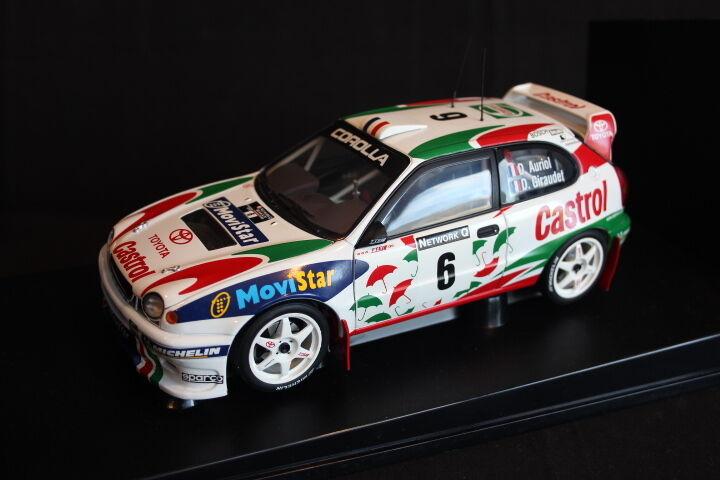 AutoArt Toyota Cgoldlla WRC 1998 1 18 Auriol   Giraudet Rally GB (AK)