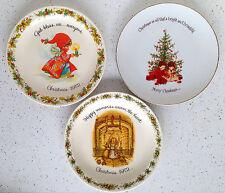 Holly Hobbie Happy GiGi Collectors Plate Vintage Christmas 2