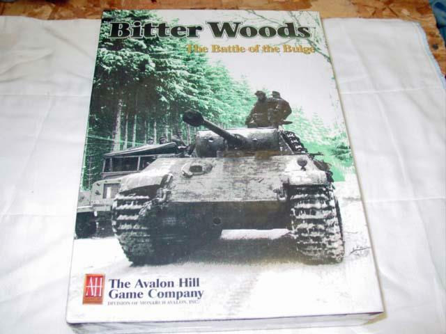Avalon Hill Ah  maderas de batalla de las Ardenas Amargo-Plus 2nd edición Multiman