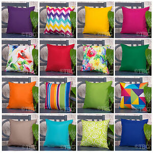 Image Is Loading OUTDOOR Garden CUSHION Furniture Cane Filled CUSHIONS Seat