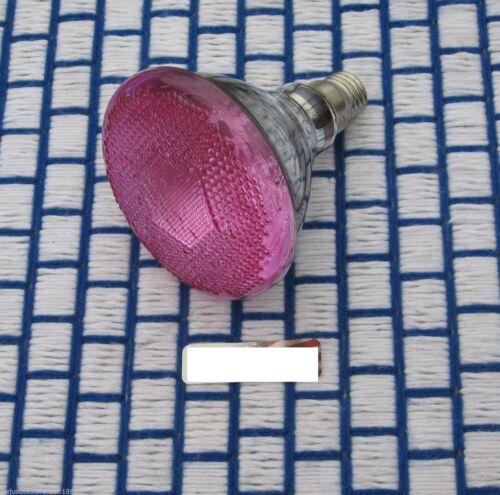 100 WATT PINK outdoor 100w flood LIGHT BULB PAR38 120V BR38 incandescent 100BR38