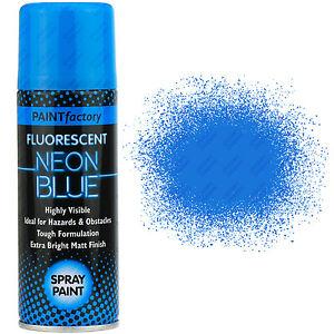 1 x fluorescent neon blue spray paint matt 200ml auto car for Creative spray paint ideas