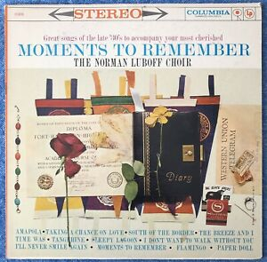 Moments To Remember - The Norman Luboff Choir Vinyl LP CS8220