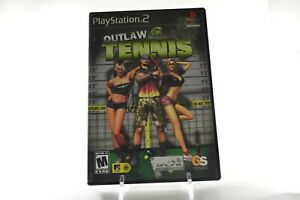 Outlaw-Tennis-Sony-PlayStation-2-2005-Complete-PS2-Video-Game