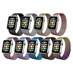 For-Apple-Watch-Magnetic-Milanese-Loop-Band-Strap-Stainless-Steel-38-40-42-44mm