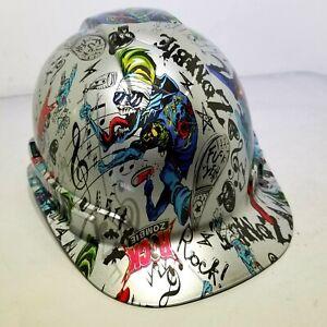 Hard-Hat-custom-hydro-dipped-OSHA-approved-ROCK-ZOMBIE-F-K-YEAH-NEW