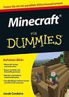 Minecraft für Dummies von Jacob Cordeiro (2014, Taschenbuch)