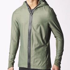 ADIDAS ORIGINALS MENS RUNNING ULTRA JACKET SIZE 2XL GREEN CLIMAPROOF BNWT