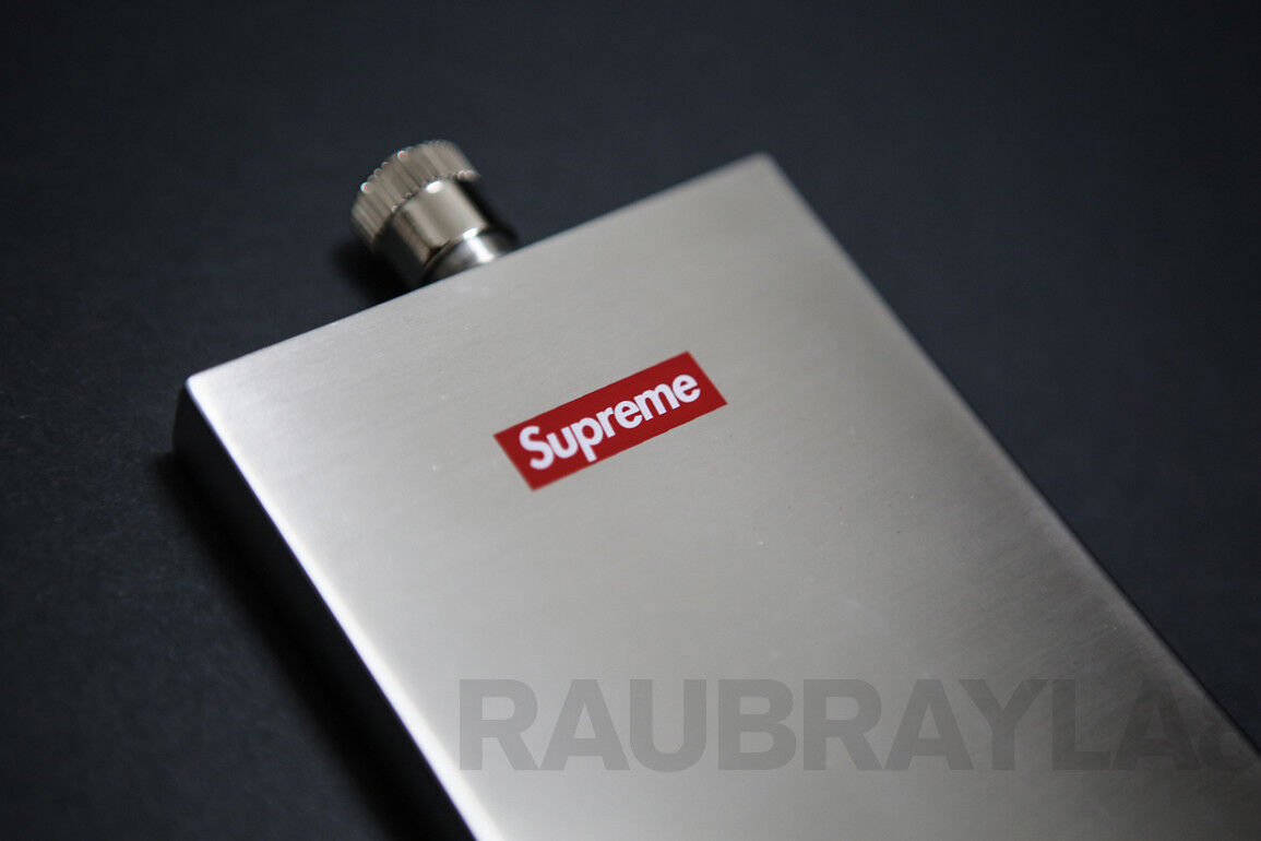 Supreme Stainless Flask 3 oz NYC Box Logo