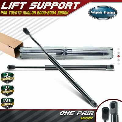 2 Hood Bonnet Lift Supports Shock Strut for Toyota Avalon 2000 2001 2002 2003 04