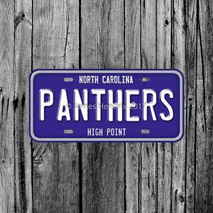 High Point University Panthers North Carolina License