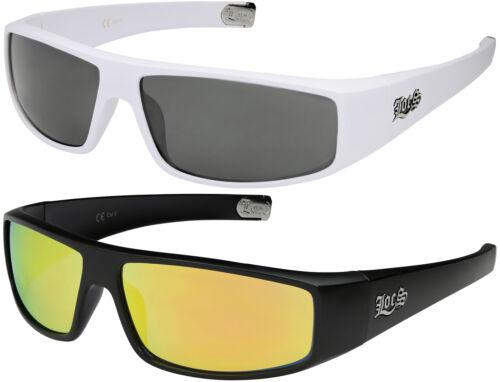2er Pack Locs 9035 Choppers Motorrad Brille Sonnenbrille Männer verspiegelt