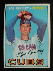 1967-Topps-Baseball-Card-256-Bob-Hendley-Chicago-Cubs