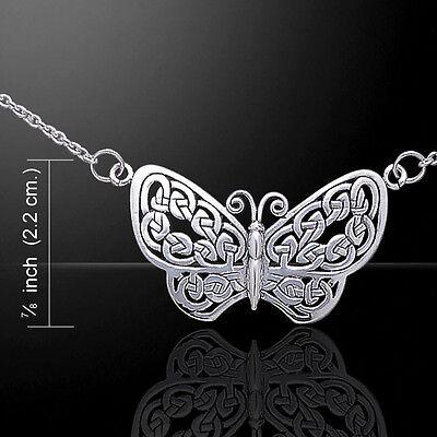 Butterfly .925 Sterling Silver Earrings by Peter Stone