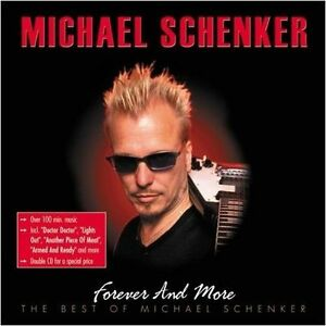 MICHAEL-SCHENKER-Forever-And-More-The-Best-Of-2-CD-DCD