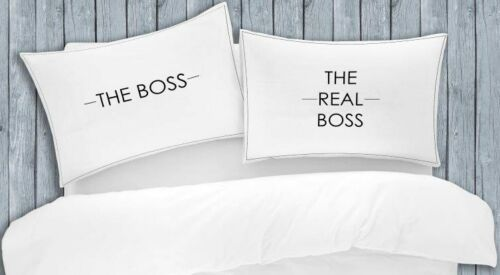 FUNNY ADULT NOVELTY TEXT PILLOW CASE CASES HOUSEWIFE PAIR BEDROOM PILLOW COVER