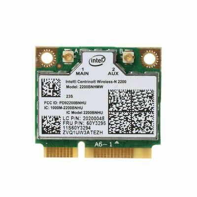 Intel 2200 Lenovo Ideapad U410 Wireless Network Mini PCI-e Half Card 60Y3295