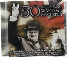50 SINGALONG WARTIME FAVOURITES 1939-45  -THE KNIGHT WATCH SINGERS NEW SEALED