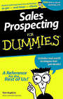 Sales Prospecting For Dummies by Tom Hopkins (Paperback, 1998)