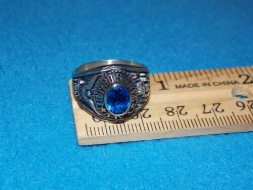 ALPHA BRAND Details about  /VINTAGE NAVY WOMEN/'S BLUE STONE RING SIZE 9 NOS U.S