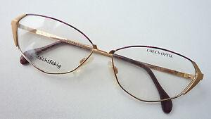 Coeln-Optik-Brillenfassung-Damengestell-Metall-Butterflyform-extravagant-size-M