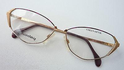 Coelnoptik Brillenfassung Damengestell Metall Butterflyform Ausgefallen Grösse M Gute WäRmeerhaltung