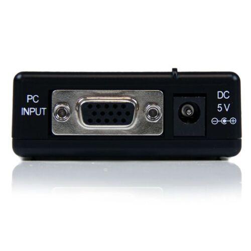 StarTech VGA2VID High Resolution VGA to Composite or S-Video Converter RCA