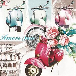 20 Servietten Vespa Di Roma Vespa In Rom Italien Moped