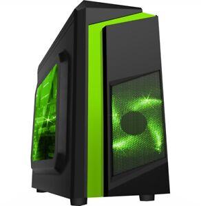 WINDOWS 10 GAMING COMPUTER PC INTEL CORE i3 @ 3.10GHz 120GB SSD 500GB HDD GT710