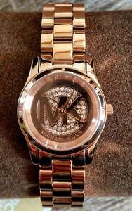 45f33d7f97c9 Michael Kors Women s Petite Runway MK3613 Rose Gold Quartz Watch ...