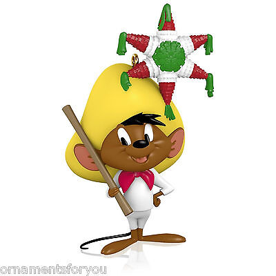 Hallmark 2015 The Merriest Mouse in Mexico Speedy Gonzales Looney Tunes Ornament