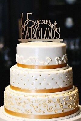 Excellent 65 Years Of Fabulous Cake Topper 65 And Fabulous Milestone Funny Birthday Cards Online Benoljebrpdamsfinfo