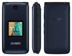 New-Alcatel-GO-FLIP-4044W-Flip-Phone-Metro-PCS-TMobile-AT-amp-T-UNLOCKED-GSM-4G-LTE