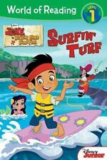 World of Reading: Jake and the Never Land Pirates Surfin' Turf: Level -ExLibrary
