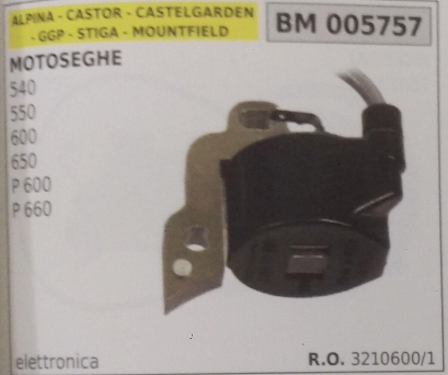 sconto 3210600 BOBINA ELETTRONICA MOTOSEGA ALPINA CASTOR CASTEL GARDEN 540 540 540 550 600 650  risposte rapide