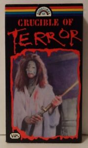 Crucible-Of-Terror-Rare-amp-OOP-Horror-Movie-Original-Goodtimes-Home-Video-VHS