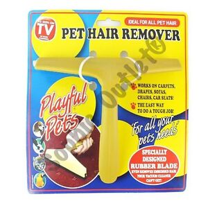 new as seen on tv pet hair remover magic hair remove dog hair cat hair remove. Black Bedroom Furniture Sets. Home Design Ideas