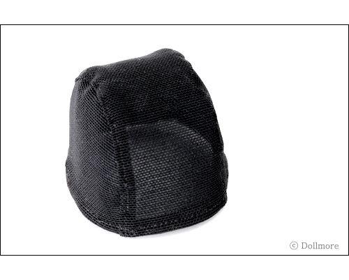 """Black Dollmore OOAK DIY MSD 7-8 /"""" BJD Wigcap"""