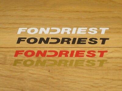 Fondriest Fork Decals