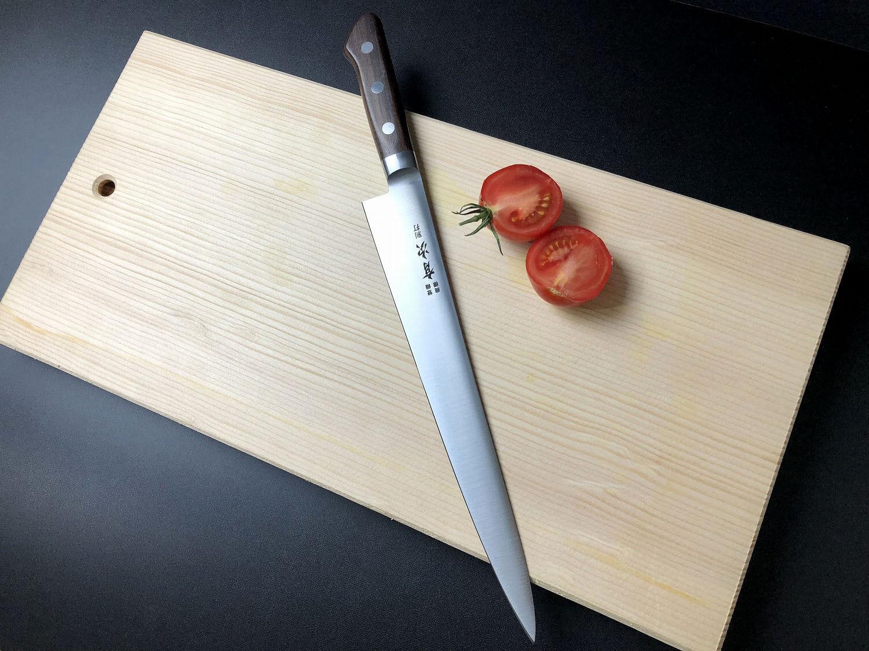 ARITSUGU Carbon Steel Japanese Chef Slicer Knife Sujjibiki 270 mm mm mm 10.62  AT087 430c44