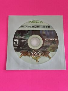🔥 MICROSOFT XBOX - 💯 WORKING GAME DISC ONLY🔥SOUL CALIBUR 2
