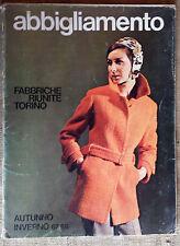 catalogo Abbigliamento Fabbriche Riunite Torino Autunno inverno 1967 - 1968