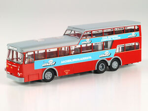 Modelli-VK-21043-Bussing-1-1-2-Decker-allkauf-Aquisgrana-ASEAG-lim300-PZ-1-87-NUOVO