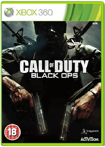 XBOX-360-CALL-OF-DUTY-BLACK-OPS-cod-BO-1-Nuovo-e-Sigillato-Compatibile-Xbox-One