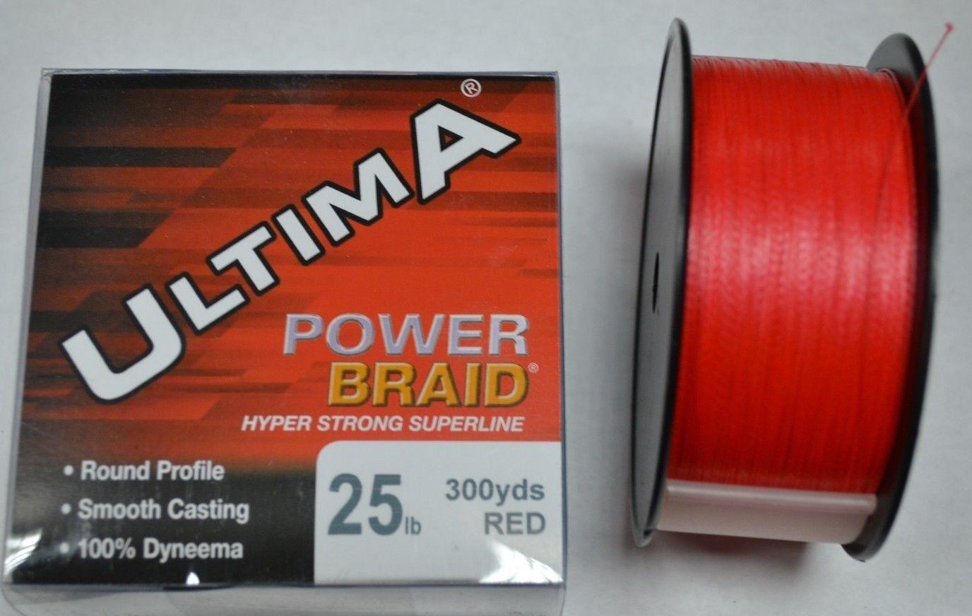 ULTIMA POWER BRAID 25lb ( 9kg) 300yds