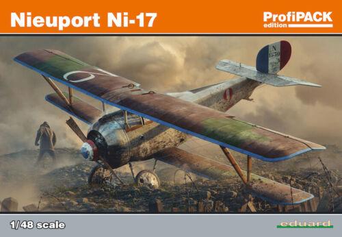 Eduard 1//48 Nieuport Ni-17 Profipack Edition # 8071