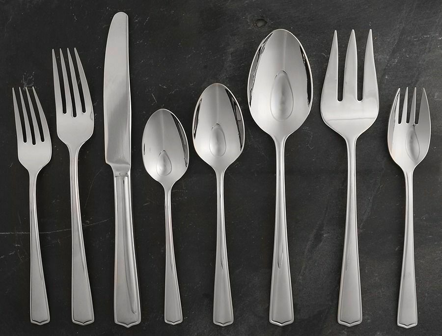 Lenox SWAIN (STAINLESS) 74 Piece Set 11379318