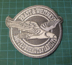 PRATT-amp-WHITNEY-MOTEURS-HAUTE-FIABILITE-EMBROIDERED-PATCH-COLLECTORS-AVIATION