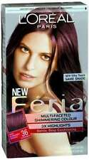 L'oreal Feria 36 Chocolate Cherry (Pack of 6)