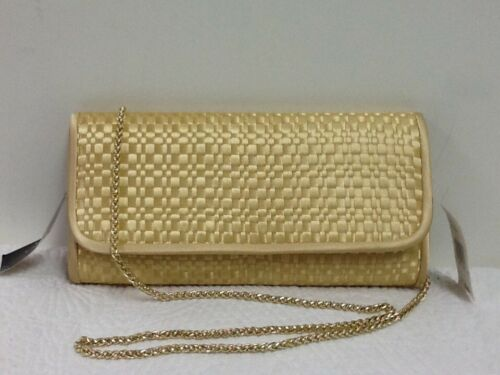 Evening Handbag Champagne Adrianna Fashion Susi Crossbody Nwt Papell 889298128746 Clutch fb7gY6y